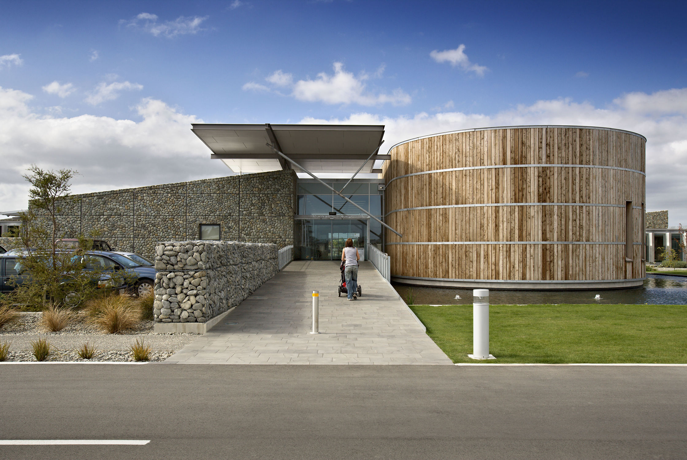 Selwyn district council athfield architects for 25 27 cambridge terrace wellington