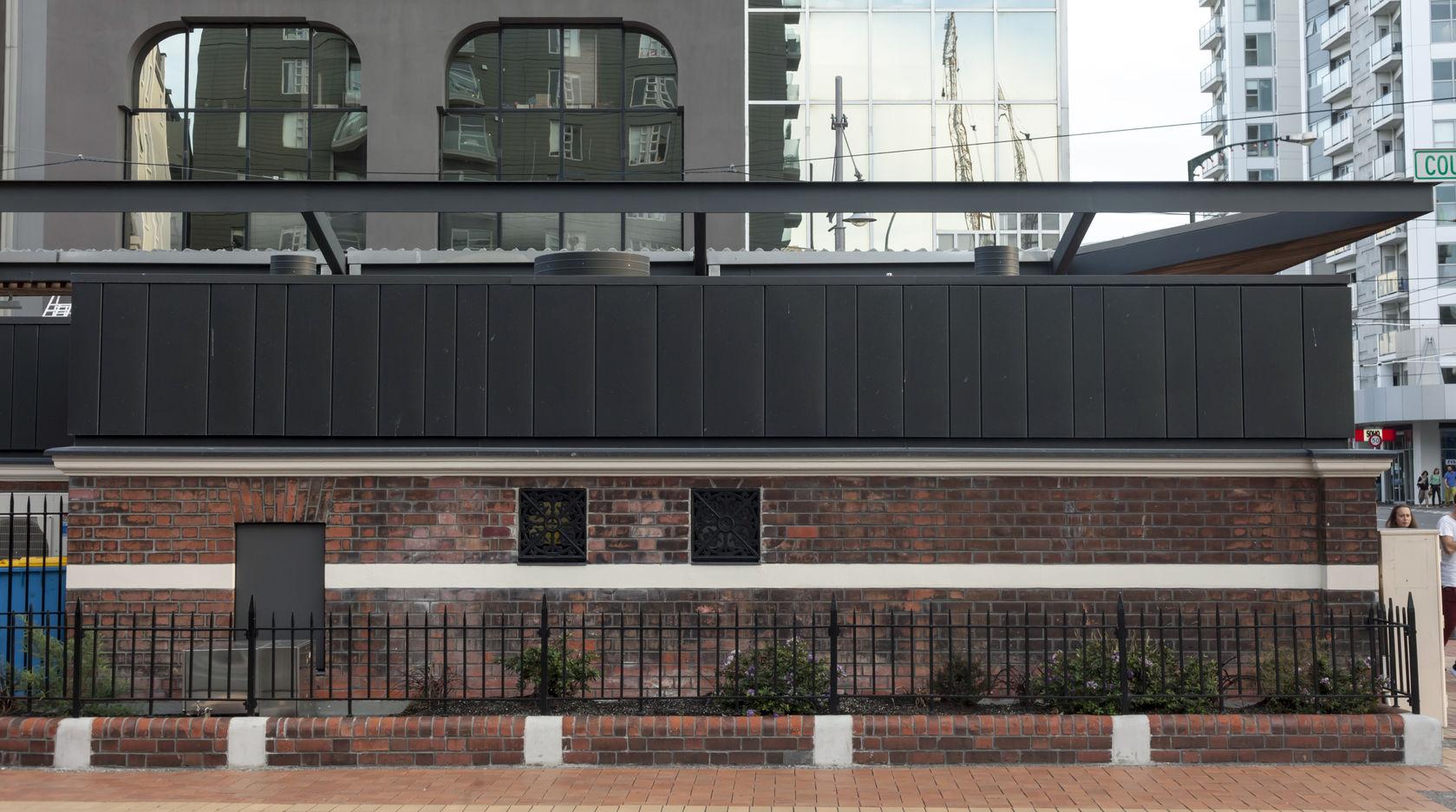 Taranaki street kiosk athfield architects for 25 27 cambridge terrace wellington